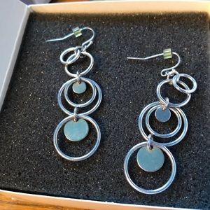 """Lia Sophia """"Reflections """" earrings"""